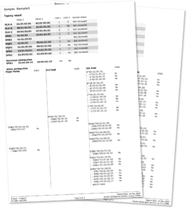 HLA Report